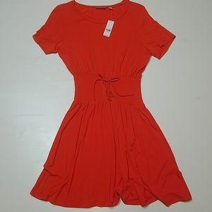 New York & Company - Corset Tie Waist Dress